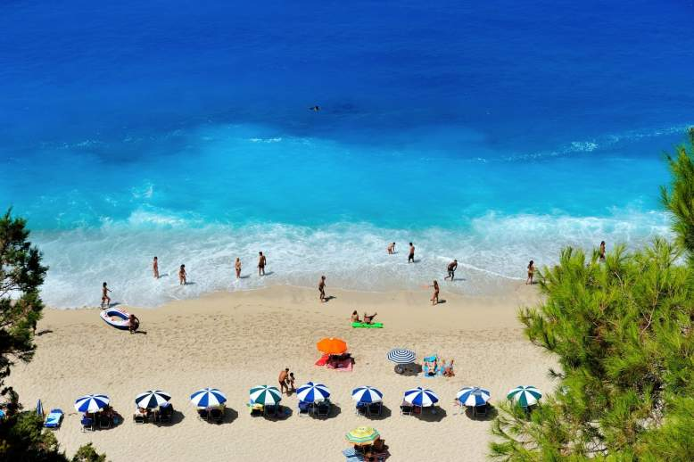 Почивка на остров Лефкада, Гърция