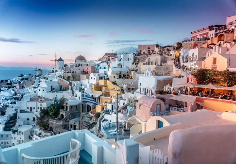 Почивка на остров Санторини, Гърция